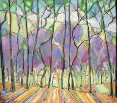Saratoga Plumeria through the Trees