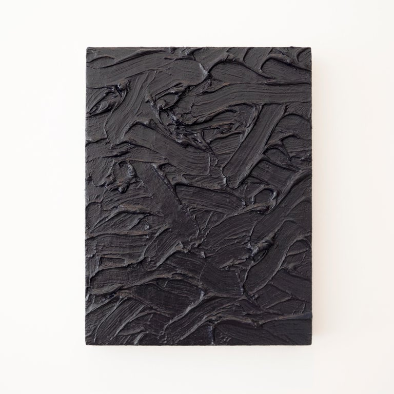 "The large-scale abstract paintings of James Hayward have been described by the critic Dave Hickey as ""stepping into liquid."" Hayward's monochromatic canvases display the fluid and malleable properties of oil paint, and present a rich, undulating yet"