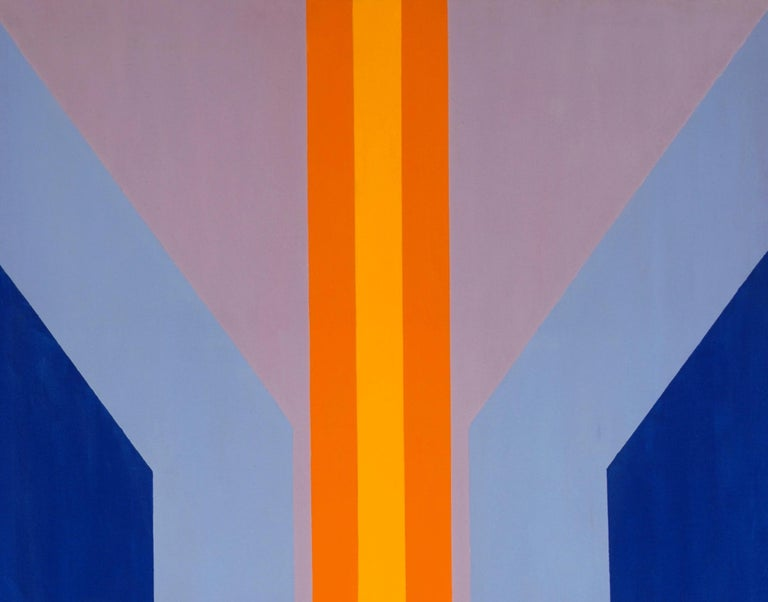 Untitled - Colour-Field Painting by James Hilleary