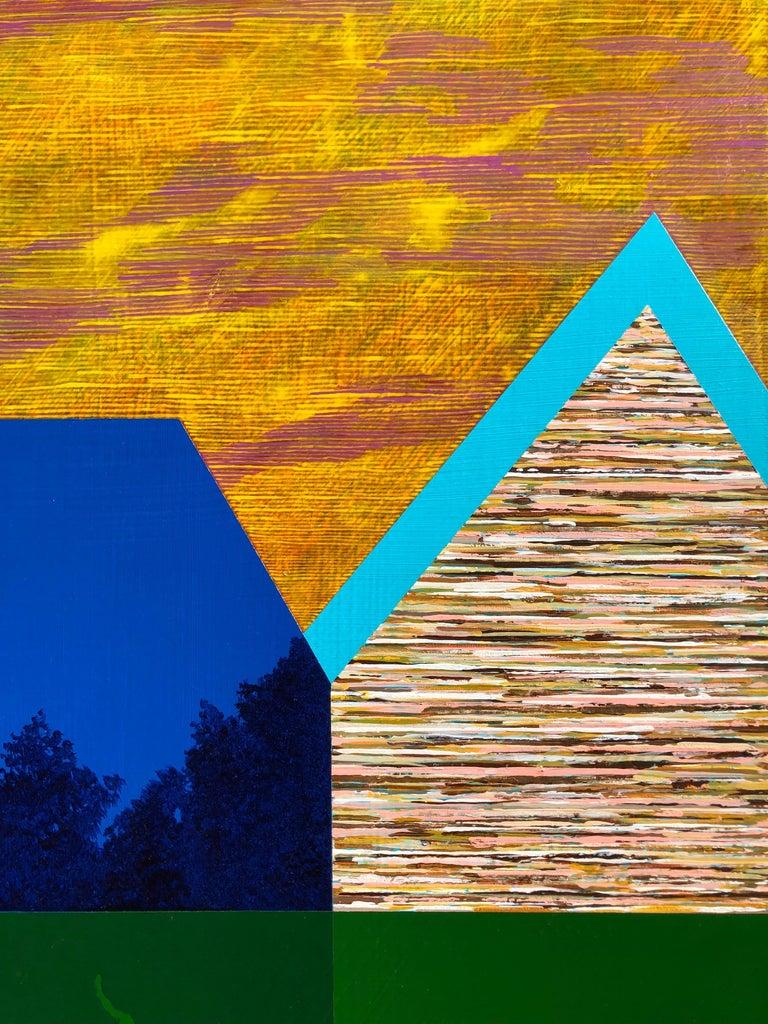 Gathering Sky - Painting by James Isherwood