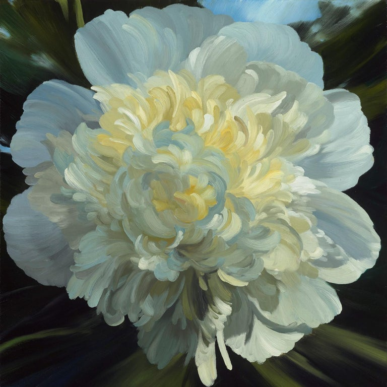 James Lahey Still-Life Painting - Peony 180531-03
