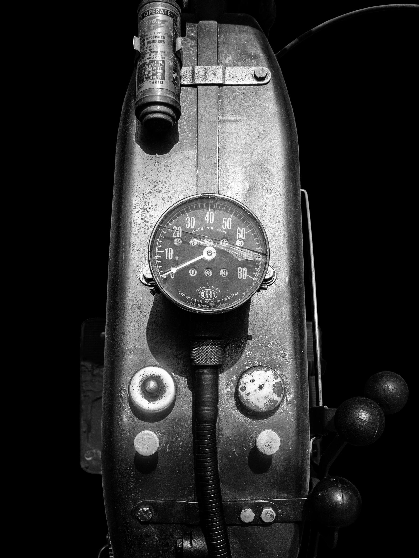 Indian Powerplus (circa 1920's) (Black)