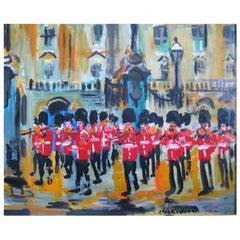 James Lawrence Isherwood 'British' Oil Guards Band Buckingham Palace, Circa 1970