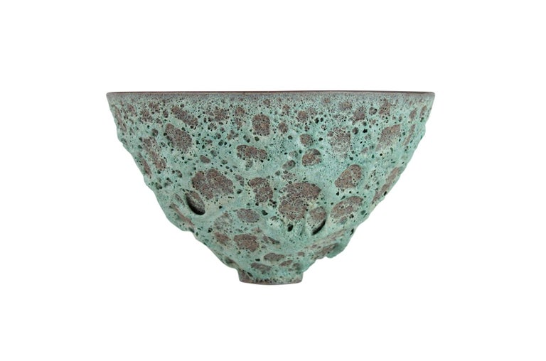 Mid-Century Modern James Lovera Studio Pottery Bowl For Sale