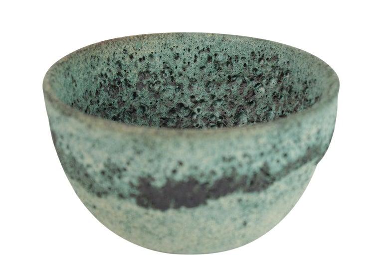 20th Century James Lovera Studio Pottery Bowl For Sale