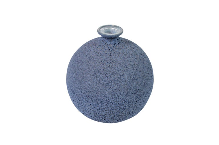 Mid-Century Modern James Lovera Studio Pottery Vase For Sale