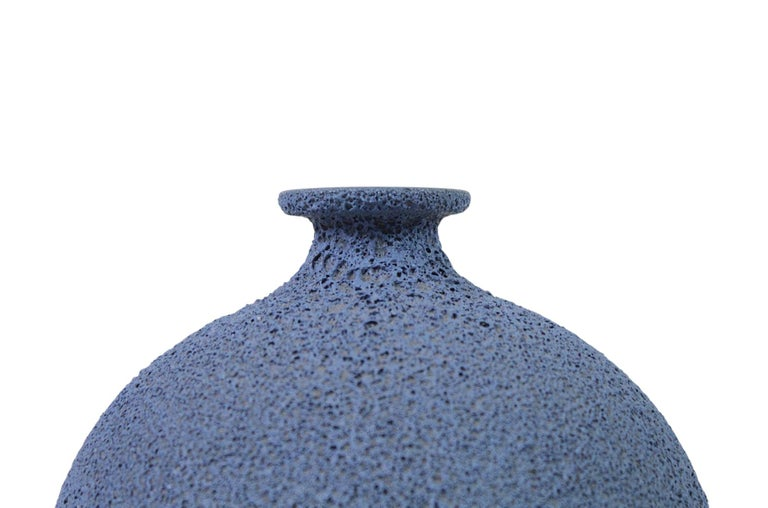 James Lovera Studio Pottery Vase In Excellent Condition For Sale In Pawtucket, RI