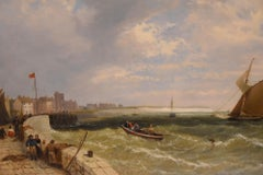 """A Kentish Harbour"" by James Meadows"