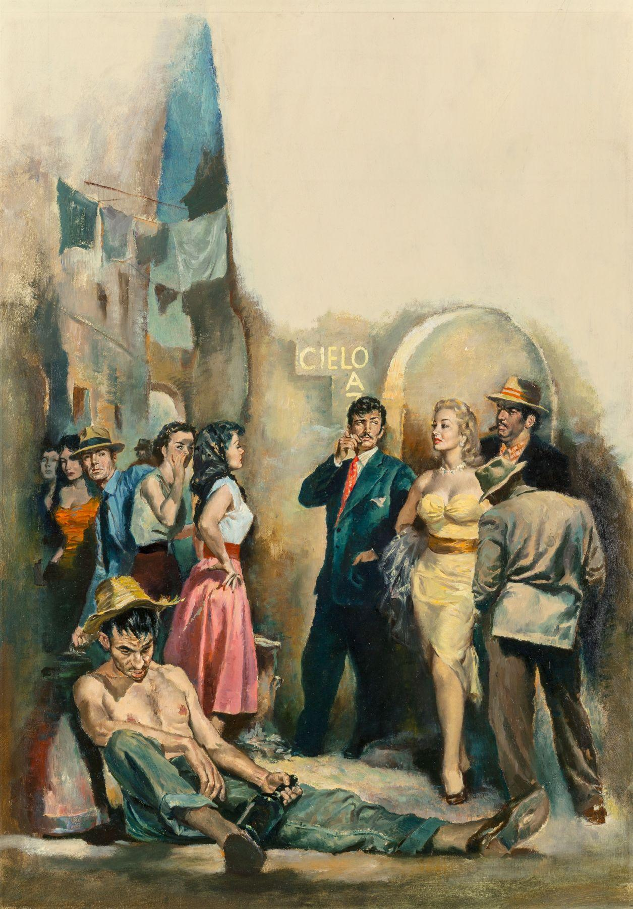 Burro Alley, Paperback Cover, 1953
