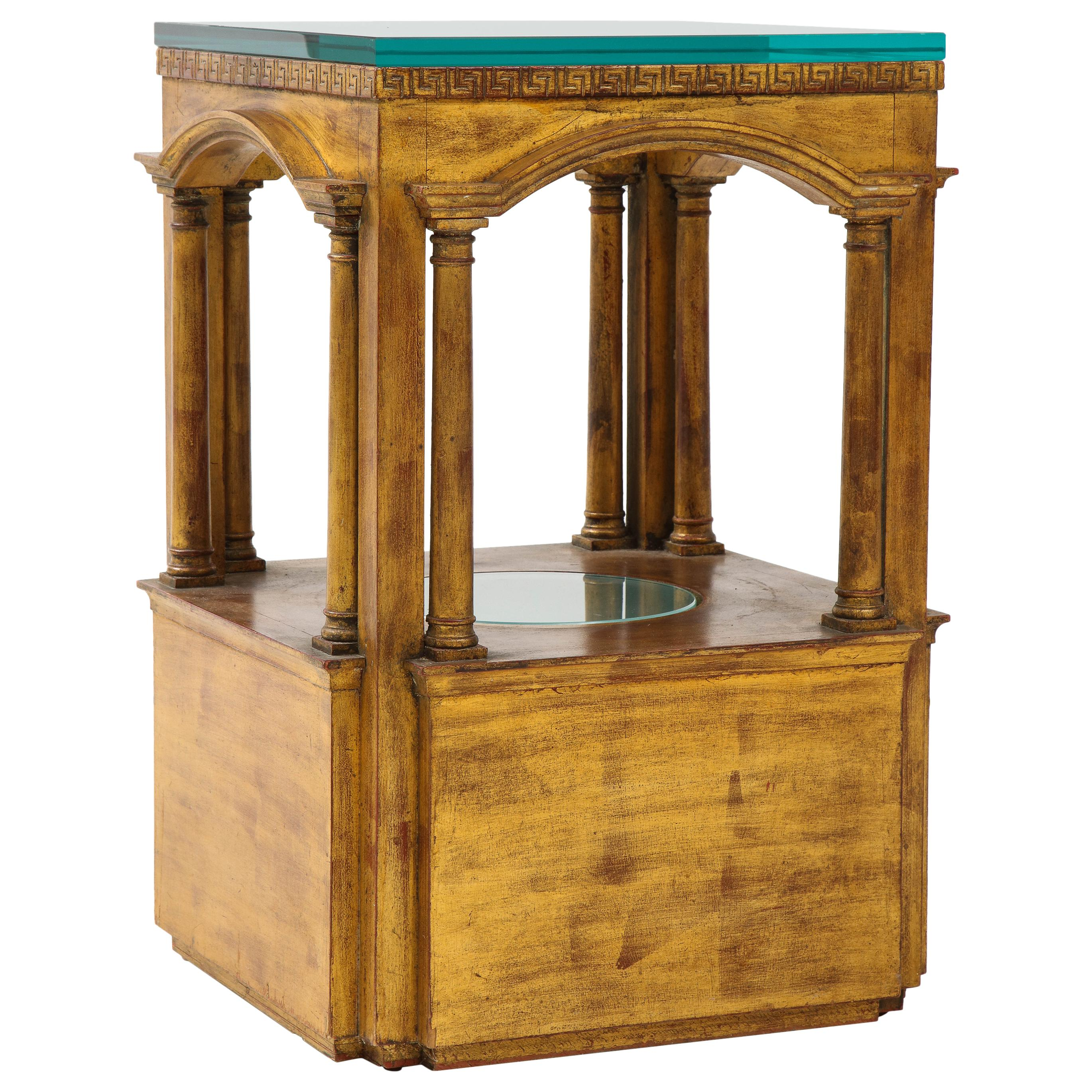 James Mont Architectural Side Table