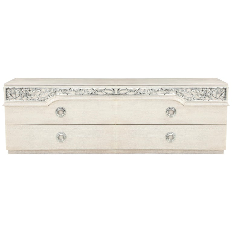 James Mont Chinoiserie Bamboo Dressers For Sale