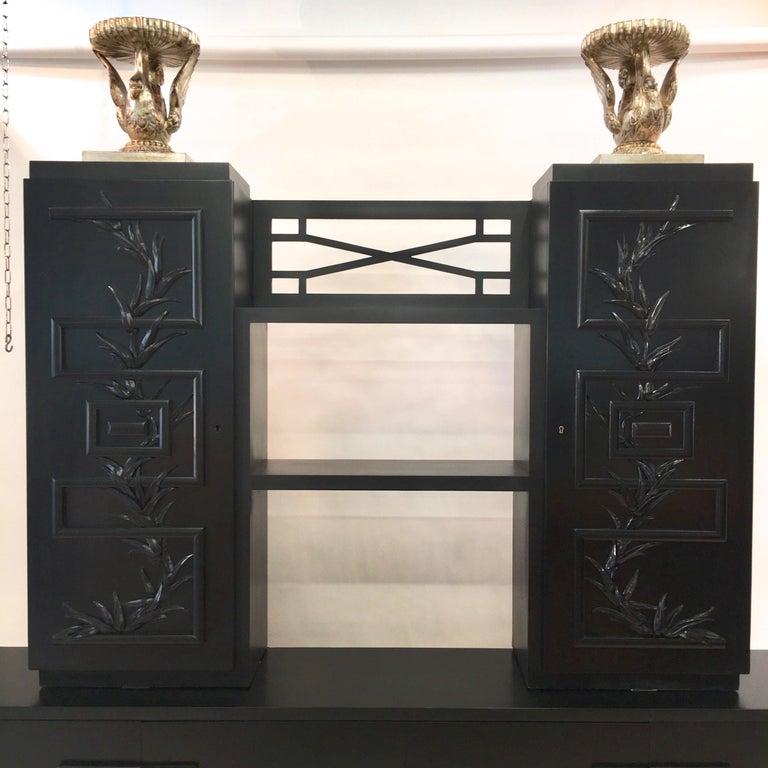 James Mont Console Cabinet For Sale 5
