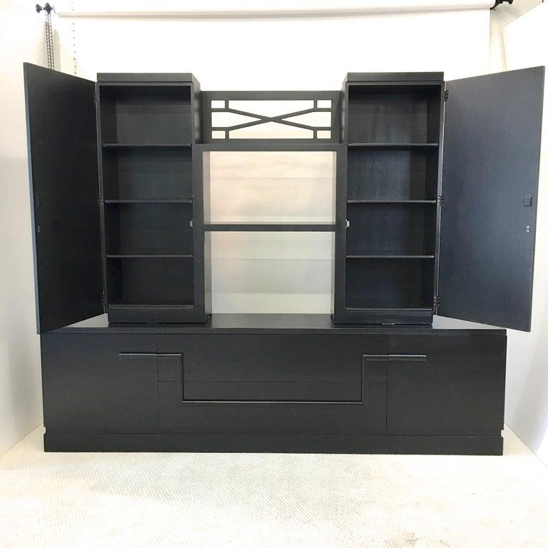 James Mont Console Cabinet For Sale 7