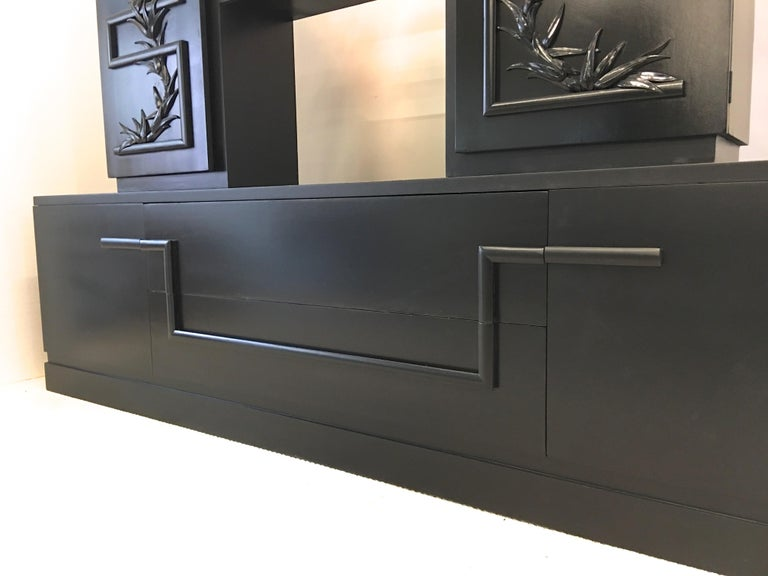 James Mont Console Cabinet For Sale 11