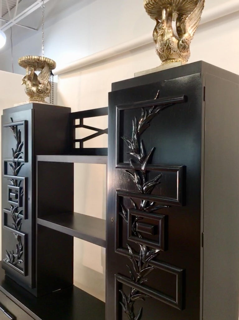 James Mont Console Cabinet For Sale 14