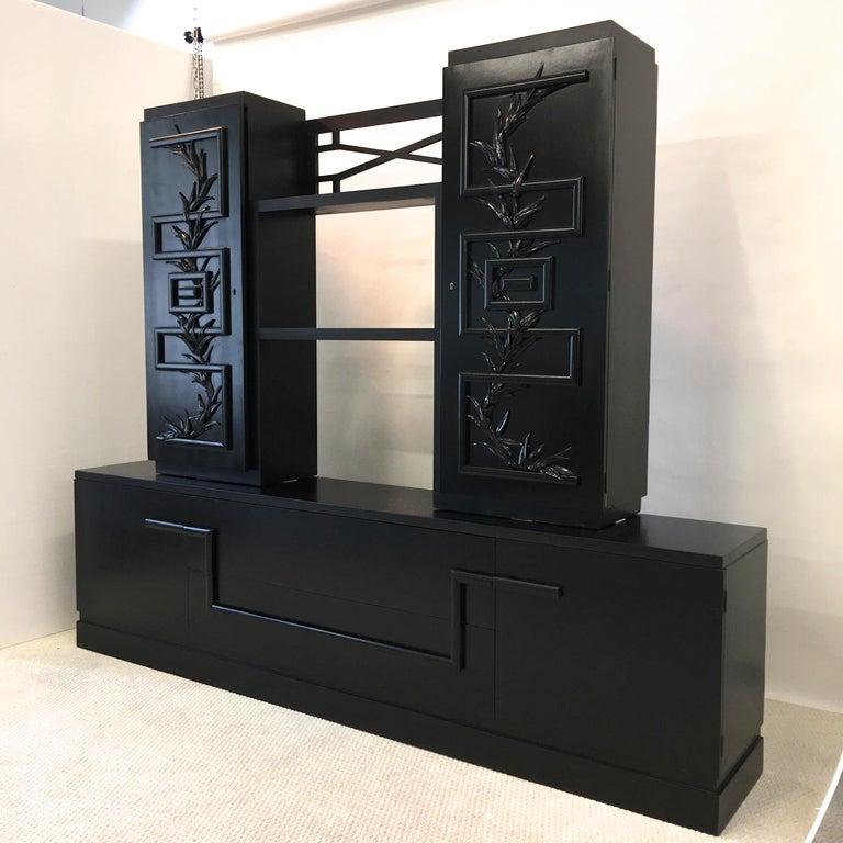 James Mont Console Cabinet For Sale 2