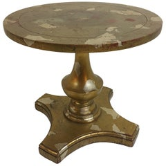 James Mont Round Side Table