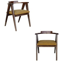 James Mont Style Asian Inspired Dining Chairs **Sature Sale**