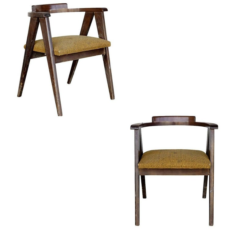 James Mont Style Asian Inspired Dining Chairs