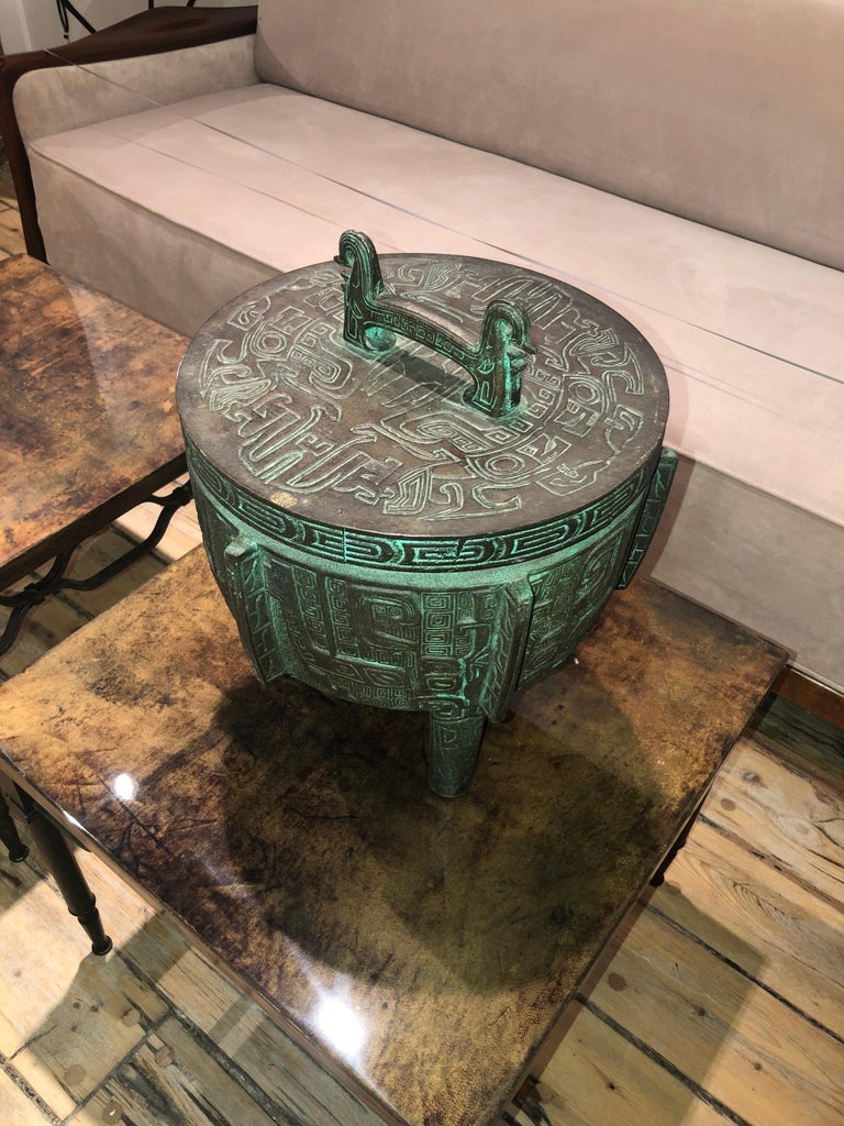 Taiwanese James Mont Style Ice Bucket For Sale