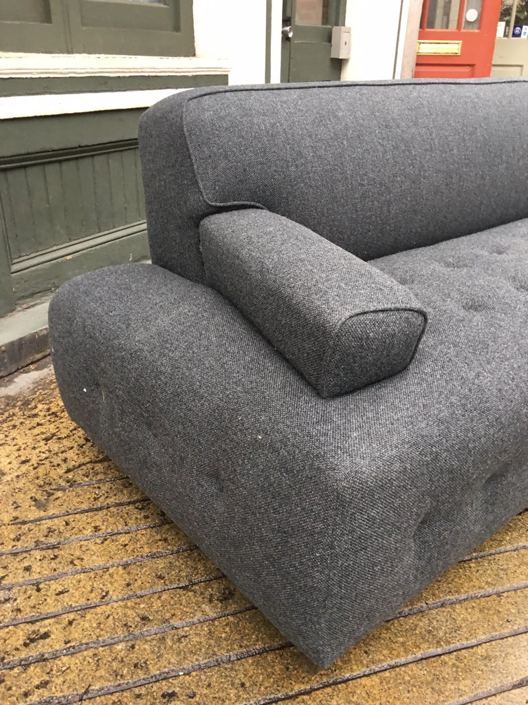 Mid-Century Modern James Mont Style Sofa For Sale