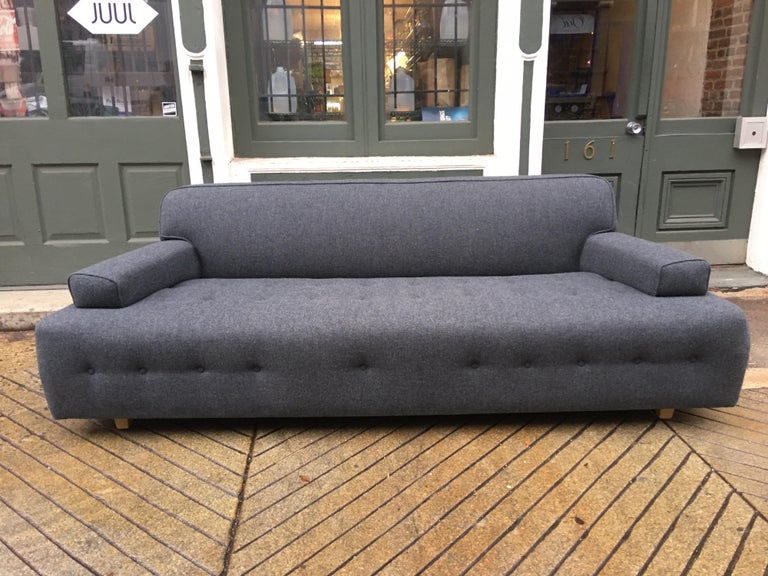 James Mont Style Sofa In Good Condition For Sale In Philadelphia, PA