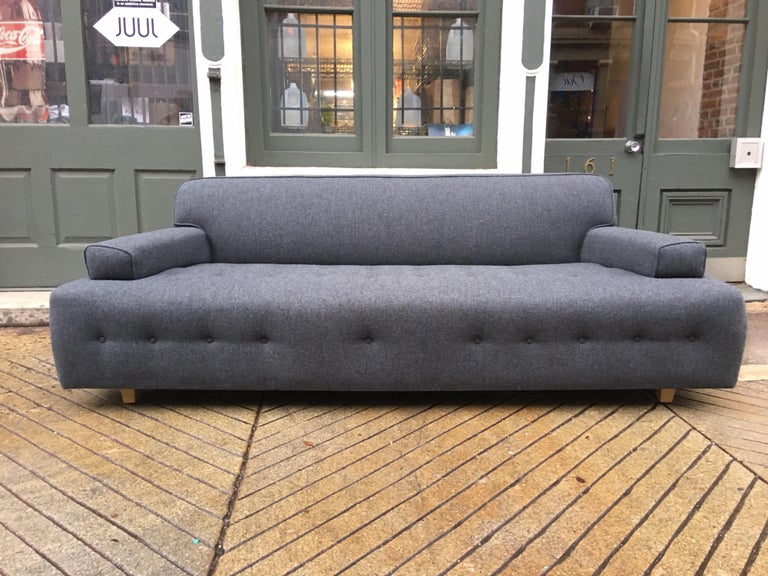 Mid-20th Century James Mont Style Sofa For Sale