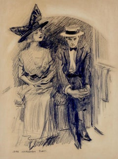 Young Couple Seated