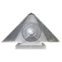 James Nani Untitled Contemporary Pyramid Lucite Sculpture
