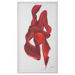 "James Nares Screen Print in Colors ""In Three Words 2"" 2012"