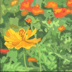 Wildflower Composition (California Poppy#15)