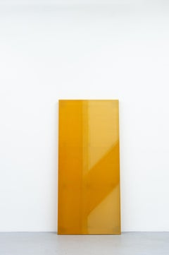 """""""Stack No. 1"""", Abstract Conceptual Painting"""