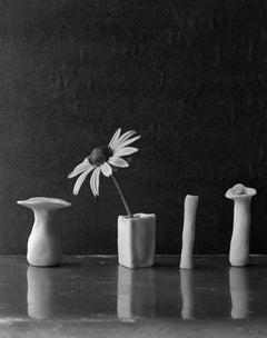Tiny Daisy Four Sculpey Vases