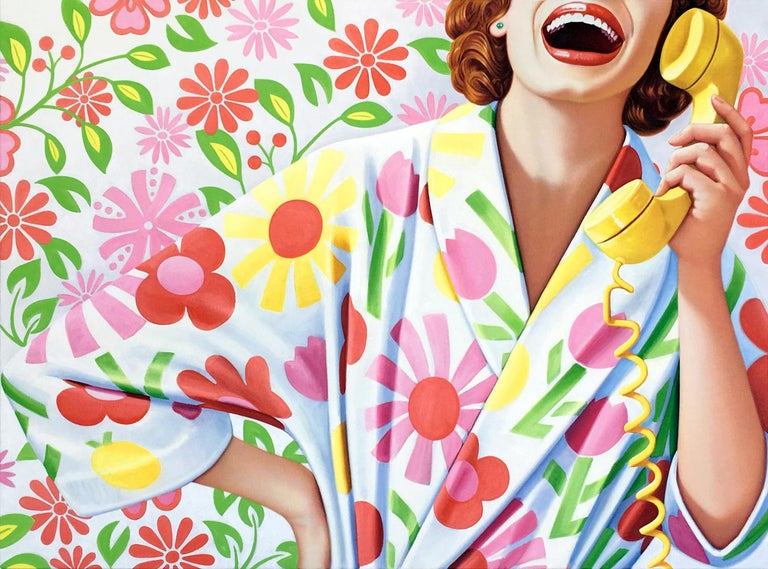 James Rieck Figurative Painting - Big Mouth