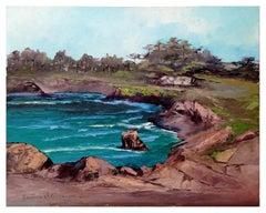 Mid Century Carmel Cove Landscape