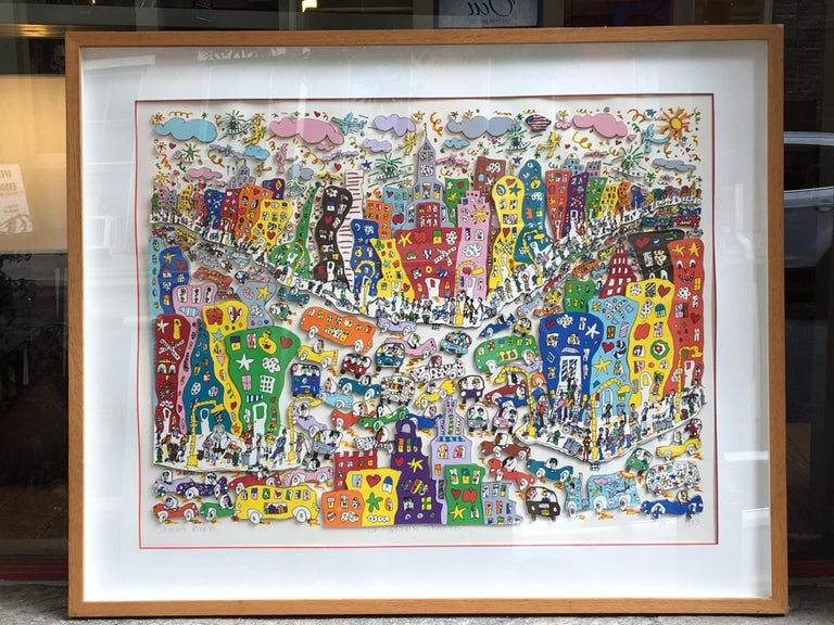 James Rizzi Crosstown Traffic 1983 85/99 For Sale 4