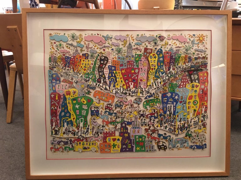 James Rizzi Crosstown Traffic 1983 85/99 For Sale 5