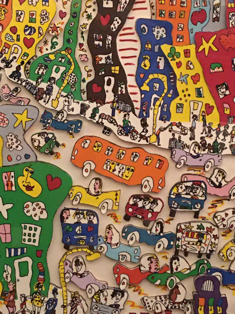 James Rizzi Crosstown Traffic 1983 85/99 For Sale 6