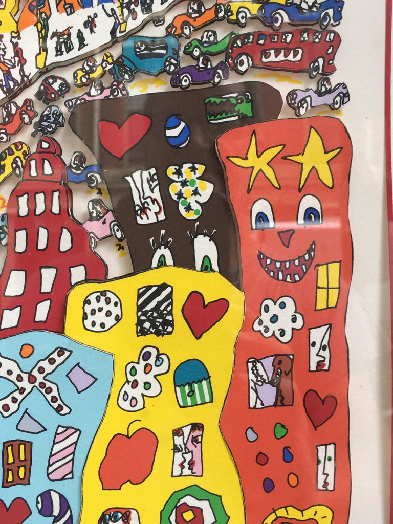 James Rizzi Crosstown Traffic 1983 85/99 For Sale 1