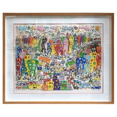 James Rizzi Crosstown Traffic 1983 85/99
