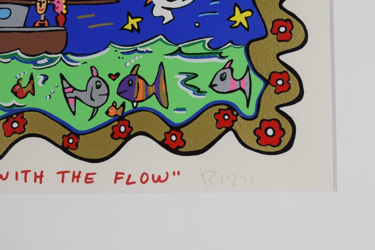 Going with the flow - Mixed Media, Pop Art, 3D, American Artist For Sale 8
