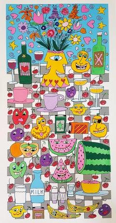 Kitchen Table (Pop Art)