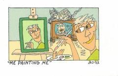 Me painting Me