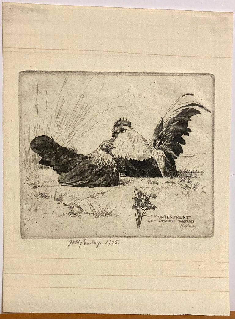 Contentment - Print by James Robert Granville Exley