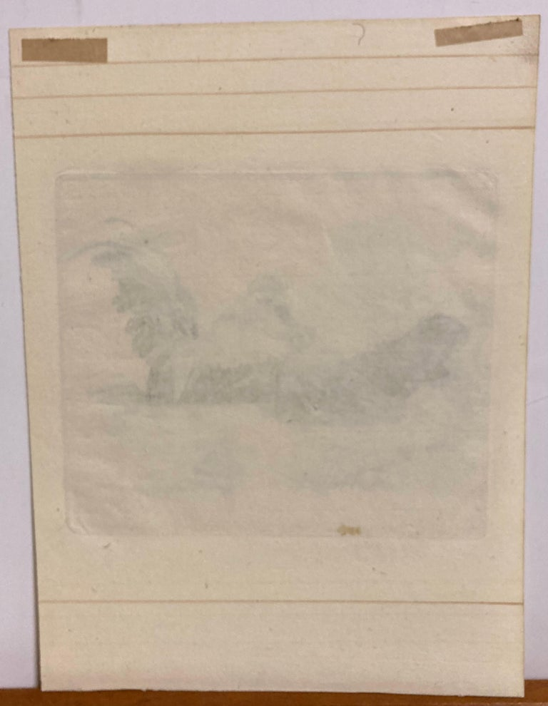 Contentment - Beige Figurative Print by James Robert Granville Exley