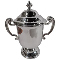 James Robinson Traditional Sterling Silver Covered Urn Trophy Cup