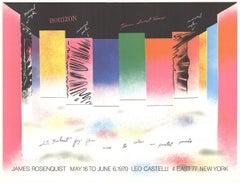 1970 James Rosenquist 'Horizon' Pop Art Multicolor,Pink USA Offset Lithograph