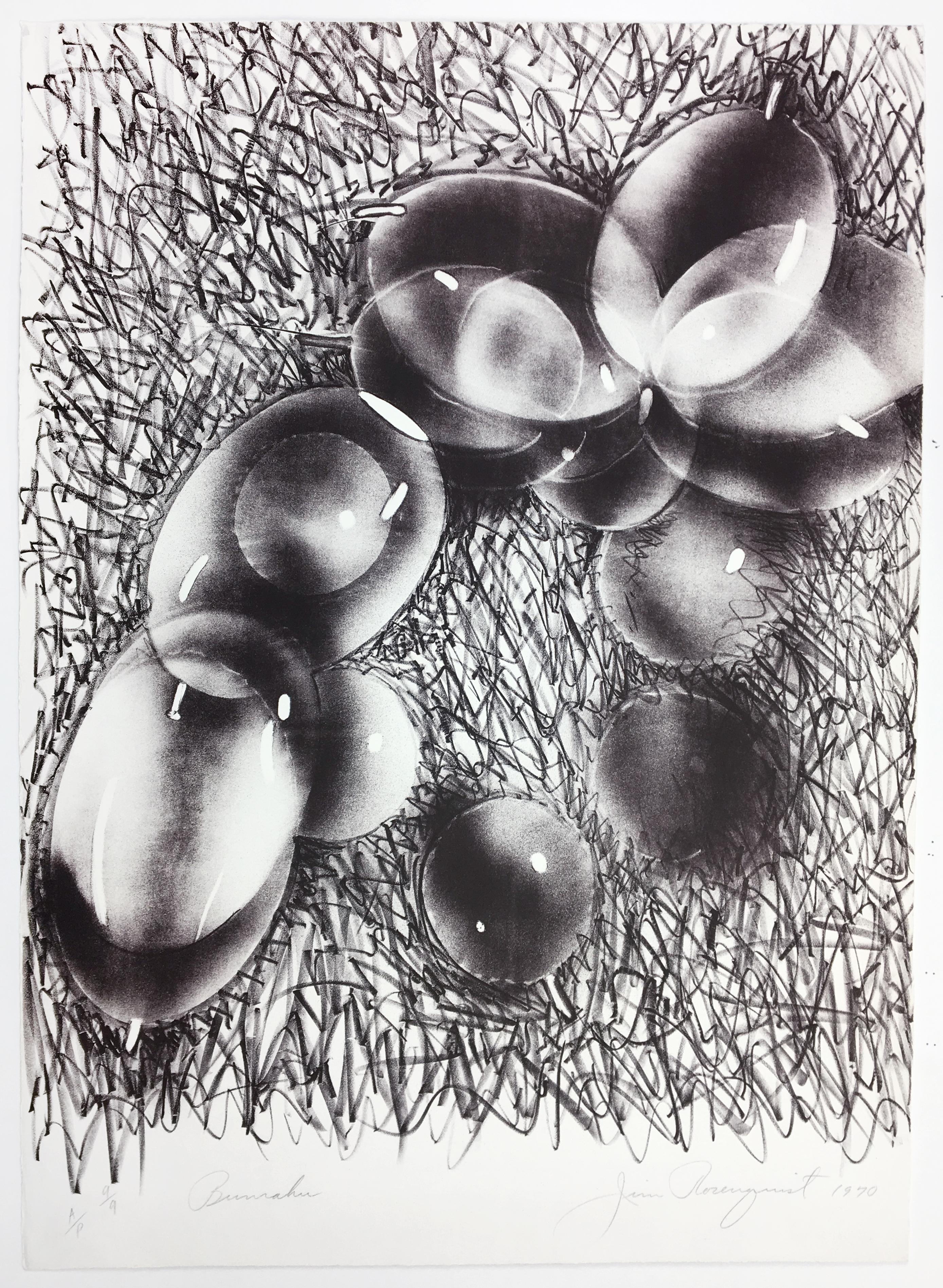 Bunraku, James Rosenquist, abstract Japanese puppetry monochrome Pop Art