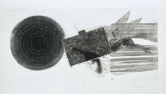Diver's Line (State 2), Limited Edition Etching & Aquatint, James Rosenquist