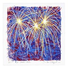 Fireworks for President Clinton